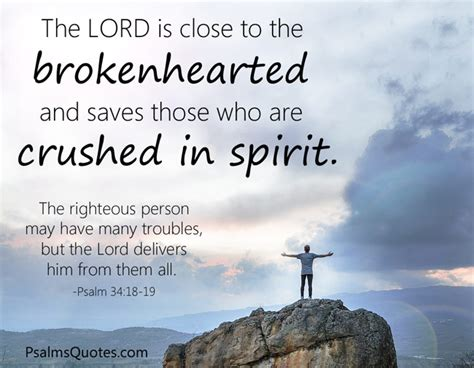 jesus comforts the brokenhearted psalm 34 18 19 bible verse on healing