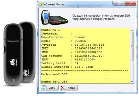 Modem Gili Sms gili sms dengan modem gsm huawei e3131