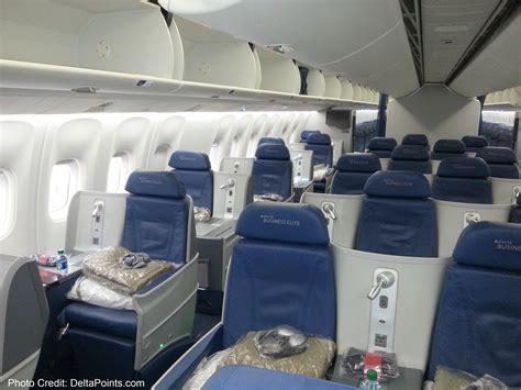 delta economy comfort international flights delta 767 300 new business class seats delta points blog