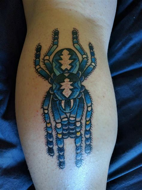 tarantula tattoo tarantula by justin dion sovereign in