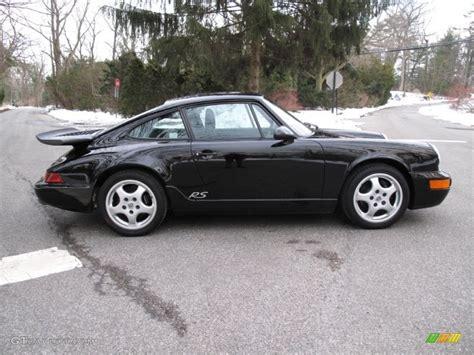 1993 porsche rs america black 1993 porsche 911 rs america exterior photo