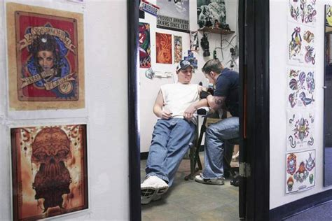 tattoo shops in toledo ohio shops in area gain respect clientele the blade