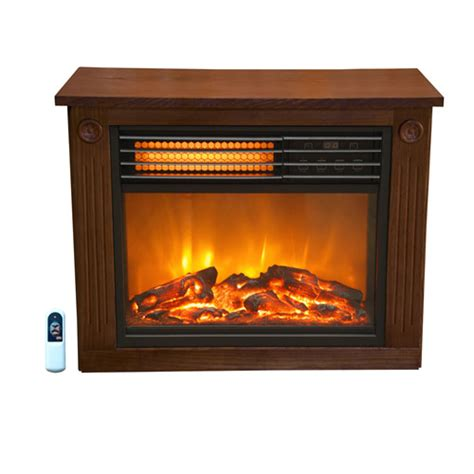 Lifesmart Fireplace by Source Green By Lifesmart R2001frp13 Fireplace Heater 1500w Refurbished