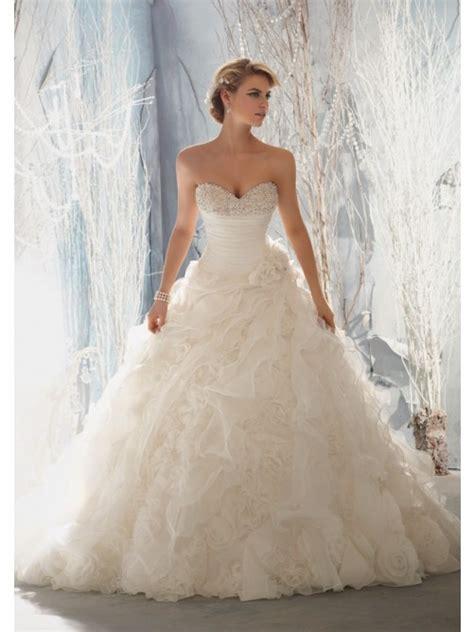 6 styles princess wedding dresses
