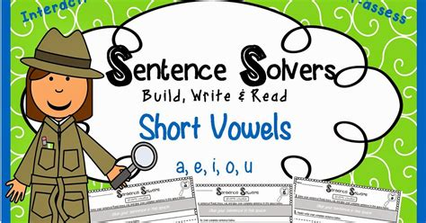 in full swing sentence crazy critter cafe sentence building with short vowel words