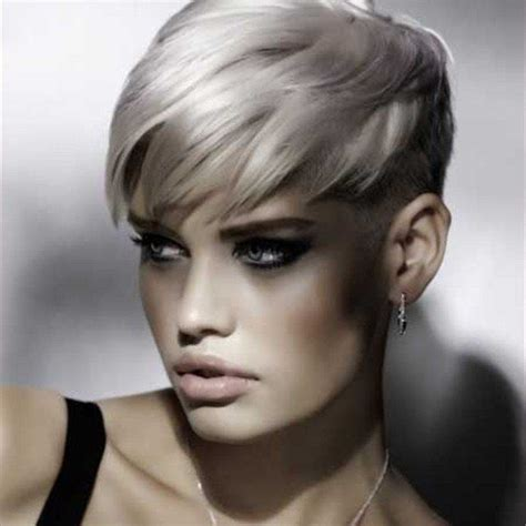 edgy haircuts for gray hair 130 best images about kapsels 49 zilver grijs haar