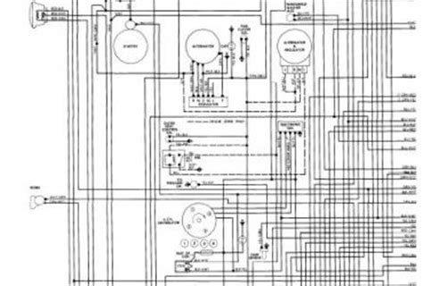 toyota engine wiring diagram wedocable