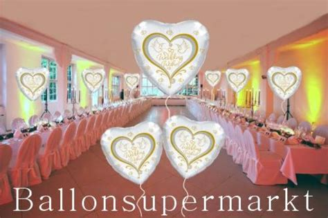 Hochzeitshalle Dekorieren by 7 Hochzeits Luftballons Wedding Wishes Mit Helium Hs Deko