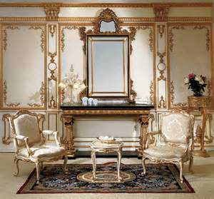Antique amp italian classic furniture entrance console and mirror in