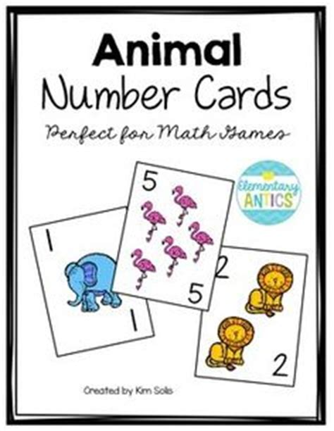 printable animal sorting cards pre number counting patterning sorting ordering and