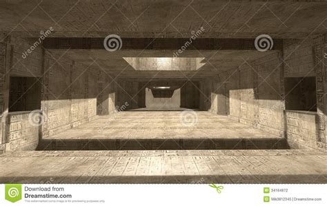 Pyramid Interiors by Pyramid Interior Scifi Stock Photography Image 34164872