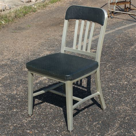 Aluminum Chair by 1 Vintage Emeco Aluminum Dining Side Chair Ebay