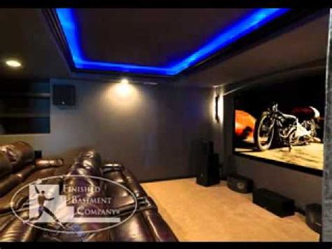 basement home theater ideas youtube