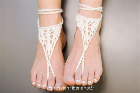 knitted barefoot sandals pattern free pattern wanderer knitted barefoot sandals