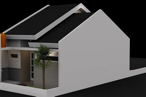 small house model small house design 3d model max cgtrader com