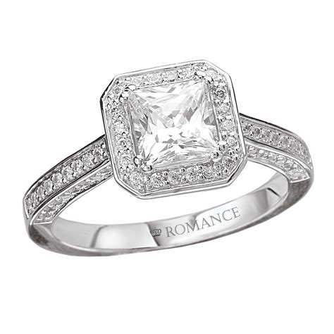 White Gold Princess Cut Wedding Rings: Truly Unique   iPunya