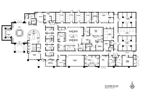 floor plan of a hospital hospital planning regional hospital planning regional