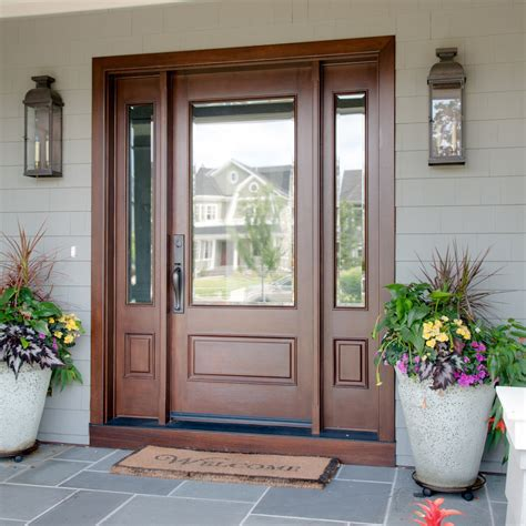 Exterior Doors Reviews Doors Astonishing Fiberglass Exterior Doors Fiberglass Exterior Doors With Sidelights Exterior