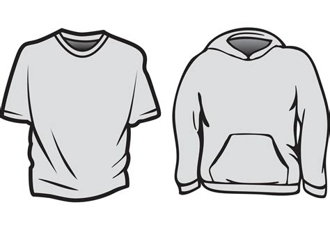 T Shirt Template Vector by Free Vector T Shirt Templates Free Vector
