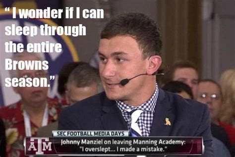 Johnny Manziel Memes - johnny manziel meme johnny manziel pinterest