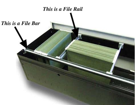 file cabinet hanging rails file bar or file rail filebars com