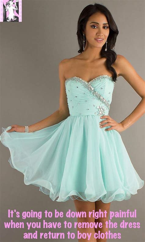 forced to wear a prom dress steamy sissy captions photo hoco prom pinterest to