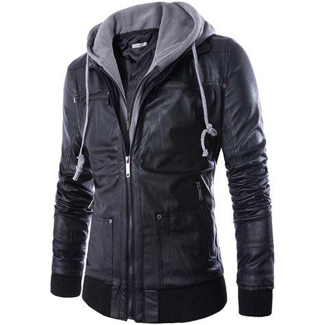 jacket k design 2015 winter new fashion brand pu leather jacket men punk