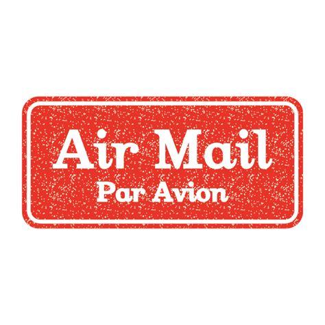 par avion par e mail air mail par avion エアメール 英語 仏語のスタンプ 赤 イラスト 商用フリー 無料 の