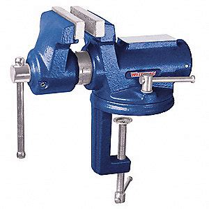 portable bench vise westward portable vise cl on swivel std duty 10d699