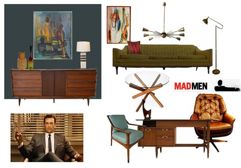 Mad Decorating Style by Mad Inspired Room Don Draper S Office