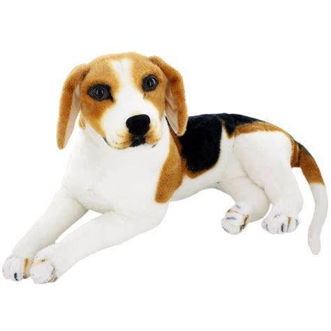 how to keep dog toys from going under the couch jesonn realistic stuffed animals beagle plush toys dog for