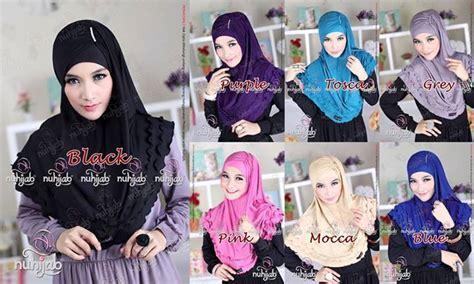 Promo Jilbab Syria Zehra New busana muslim koleksi terbaru