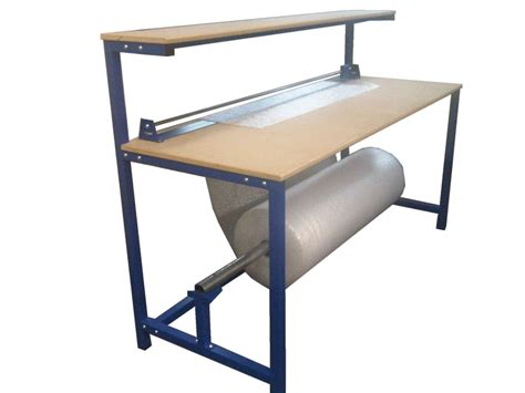 work bench stool packaging accessories packing tables by spaceguard