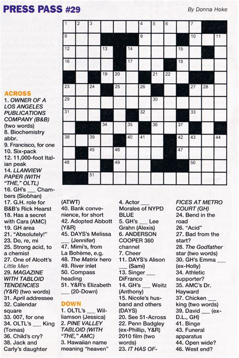 easy crossword puzzles about movies search results for printable easy crossword puzzles kids