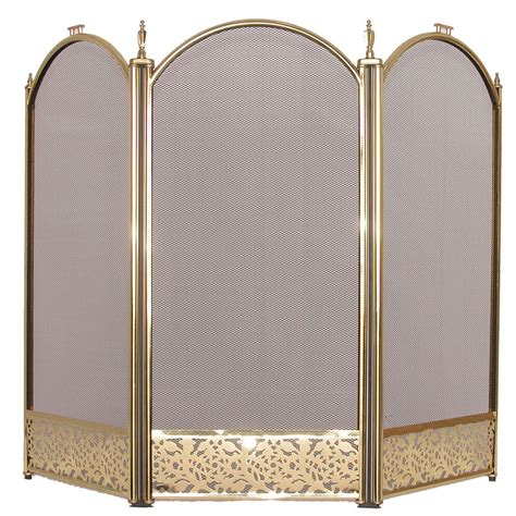 guard freestanding panel spark fireplace screen