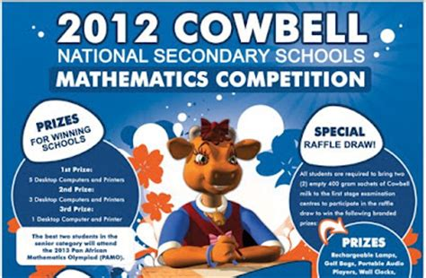 national 4 mathematics student studentfield 2012 cowbell national secondary schools mathematics competition