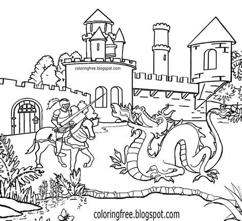 coloring pictures of knights and castles coloring pictures of knights and castles coloring page