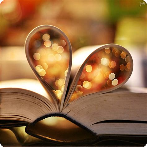 hearts on books book books light reading image