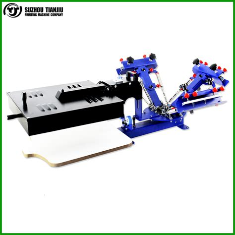 6 color screen printing press 6 color 1 station manual screen printing press saymadown