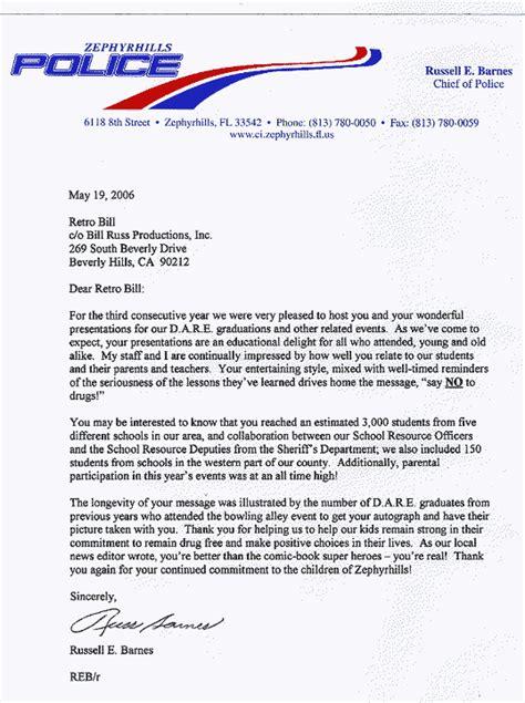 Reference Letter Enforcement Cover Letter Exle Captain Cover Letter Exle