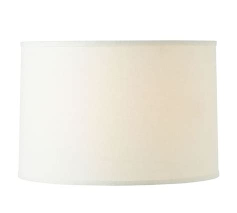 Straight Sided Linen Drum L Shade Pottery Barn