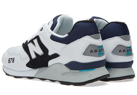 Original Bnwb New Balance 878 Bluegreywhite the new balance 878 makes a appearance sneakernews