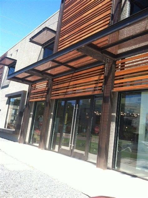modern metal awnings modern awning ideas cazamio pinterest