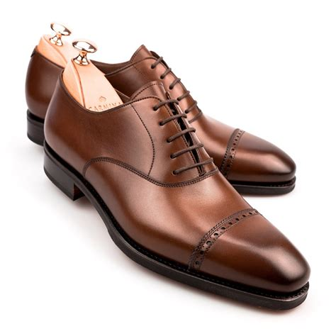 brown oxford shoes with captoe oxford shoes carmina