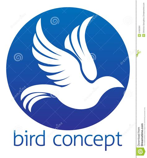 Circle Dove circle dove concept design stock vector image 51832391