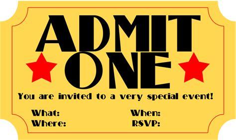 invitation ticket template musicalchairs us