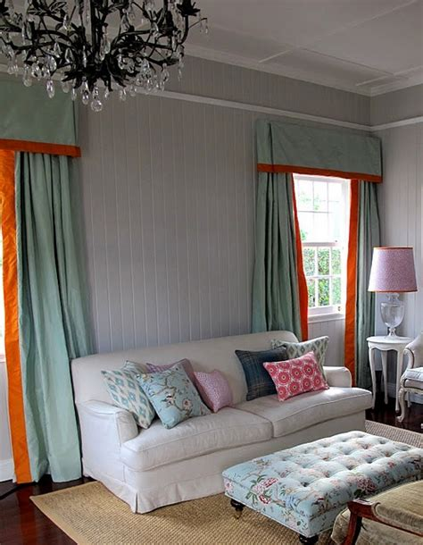 orange and aqua curtains 17 best images about curtain ideas on pinterest window