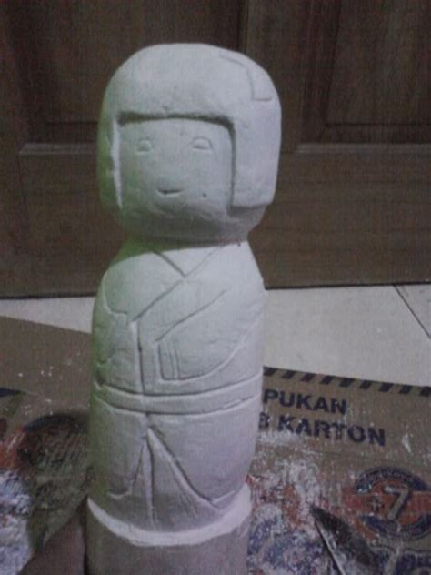 membuat kerajinan gypsum goresan inspirasi hati membuat patung dari bahan gypsum