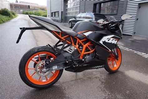Motorrad 125 Ccm Supersportler by Motorrad Occasion Kaufen Ktm 125 Rc Abs Supersport Emil