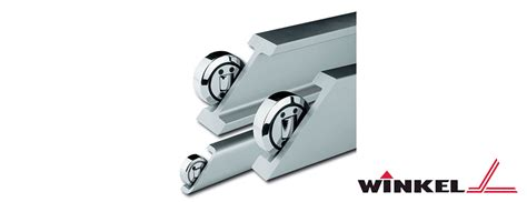 design rails application winkel bearings and profile rails reduced design time